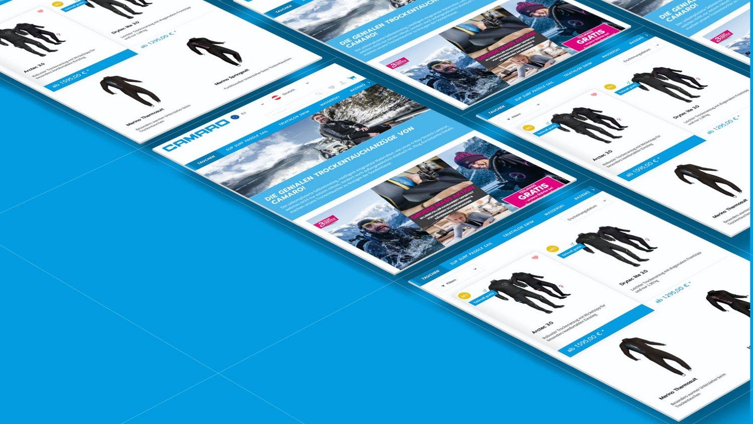Onlineshop für: camaro-watersports.com