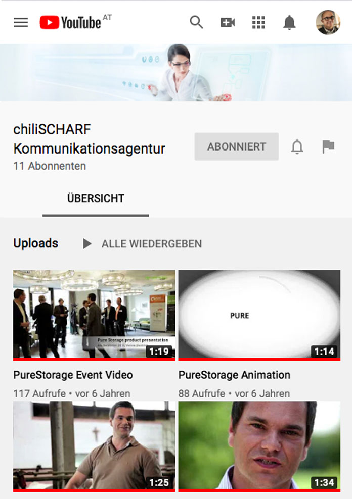 Youtube chiliSCHARF