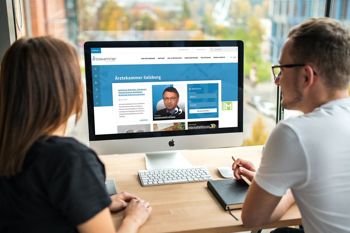 Ärztekammer für Salzburg / TYPO3 Website
